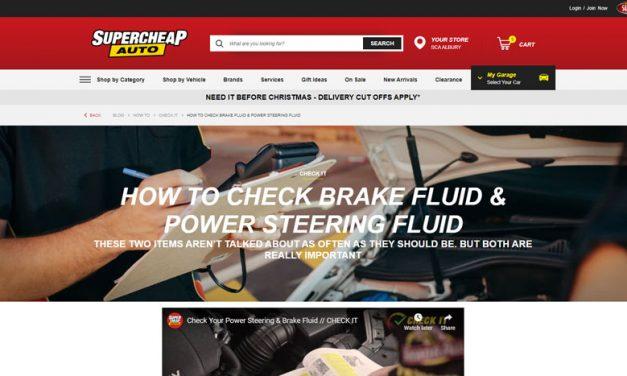 Brake Fluid and Power Steering