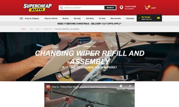 Changing Wiper Blades