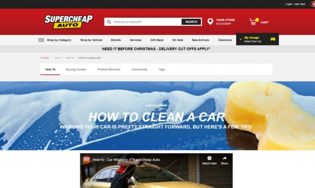 Cleaning Car Exterior