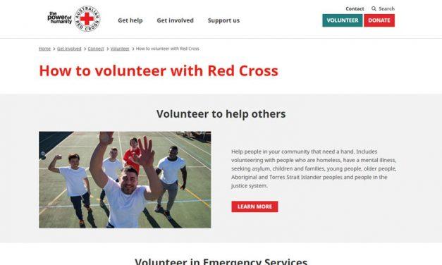Red Cross Volunteering