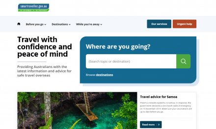 Smart Traveller – Travel information
